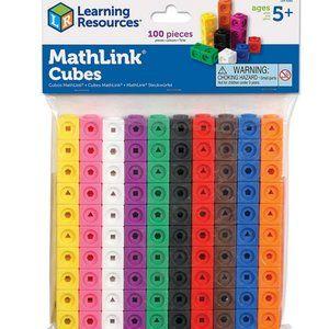 MathLink Math Manipulatives Math Cubes set of 100